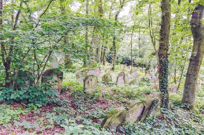Bingen am Rhein Sehenswürdigkeiten Jüdischer Friedhof