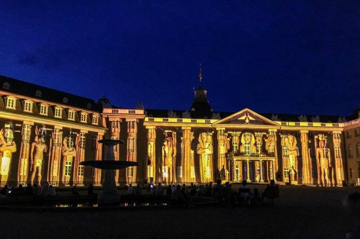 Perfektes Wochenende in Karlsruhe Schlosslichtspiele2016