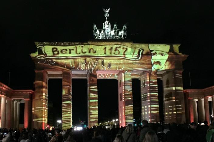 Festival of Lights 2016 / Berlin leuchtet 2016 Brandenburger Tor