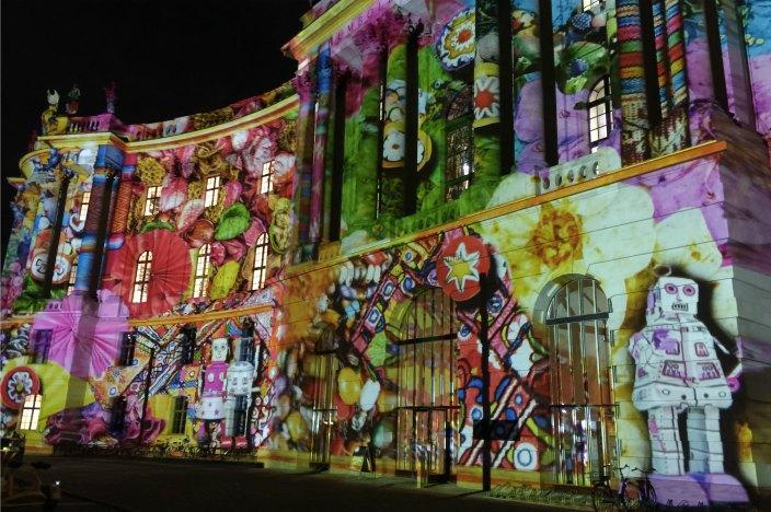 Festival of Lights 2016 Berlin Humboldt-Universität Bebelplatz