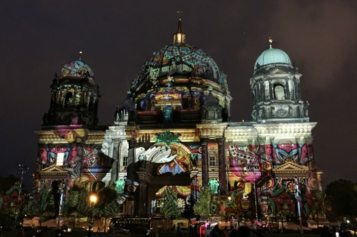 Festival of Lights 2016 / Berlin leuchtet 2016 Berliner Dom