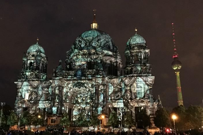 Festival of Lights 2016 / Berlin leuchtet 2016 Berliner Dom / Fernsehturm