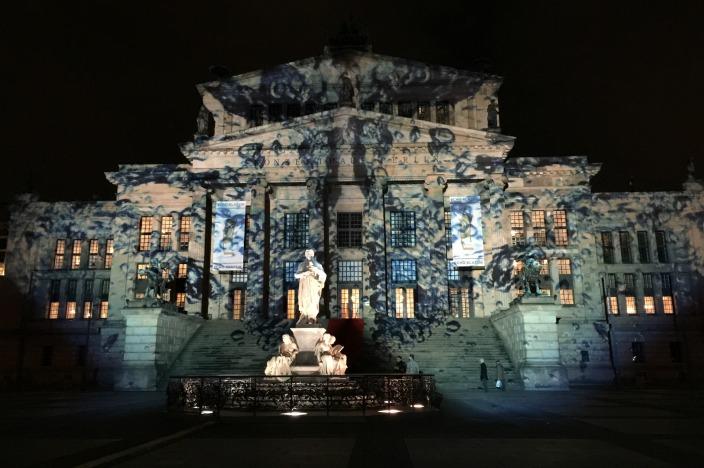 Festival of Lights 2016 Berlin Konzerthaus