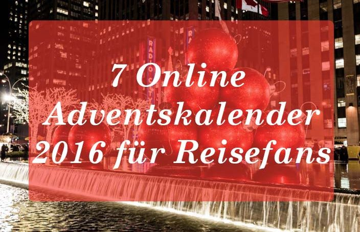 Reise Adventskalender 2016