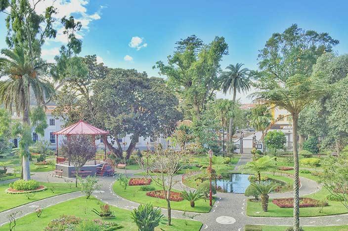 Angra do HeroismoDer Stadtpark: der Jardim Duque da Terceira