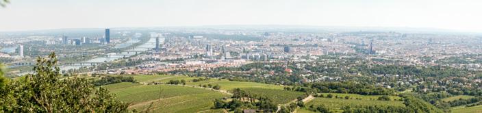 Wien Insider Tipps Aussicht vom Kahlenberg