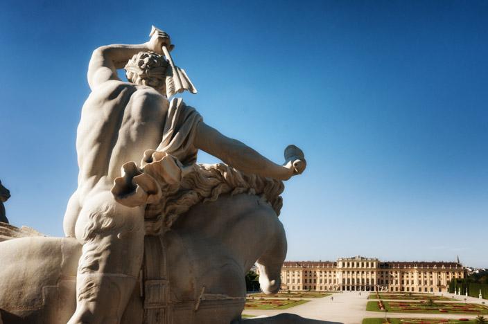 Wien Insider Tipps Schloss und Park Schönbrunn Neptunbrunnen