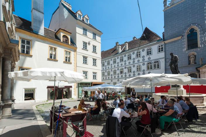 Wien Insider Tipps kleines cafe