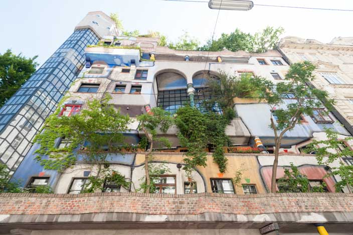 Wien Insider Tipps Hundertwasserhaus