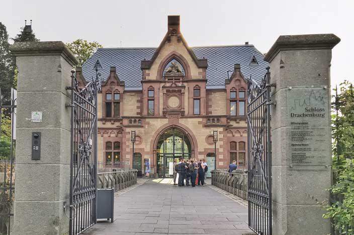 Schloss Drachenburg Eingang