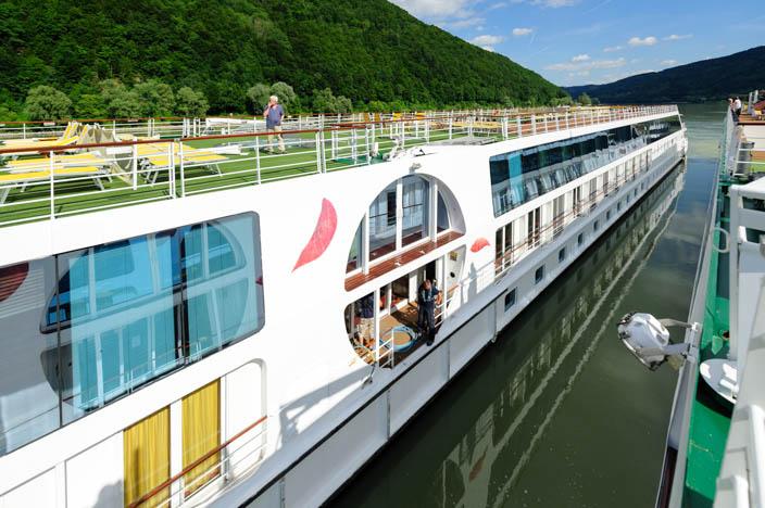 Flusskreuzfahrt Donau A-ROSA Riva Sonnendeck