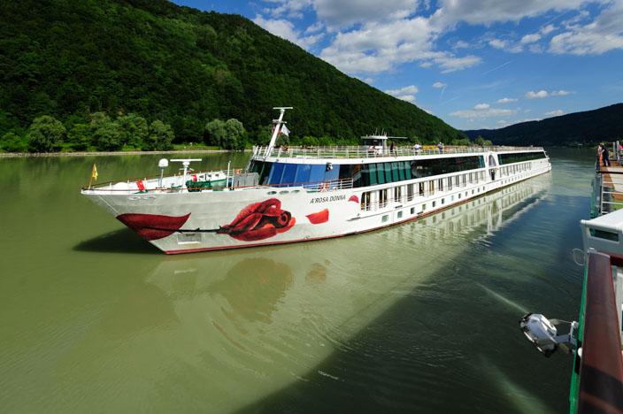 Flusskreuzfahrt Donau Ablegen in Engelhartszell