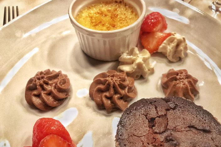Schloss Drachenburg Catering Maritim Hotel Dessert