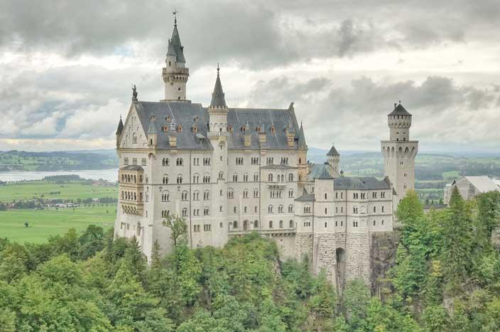 Schloss Drachenburg - Schloss Neuschwanstein