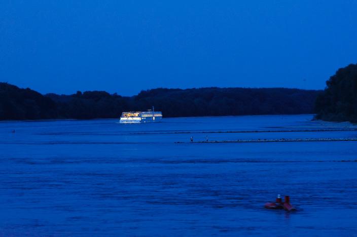 Nächtliche Ruhe im Nationalpark Donau Auen