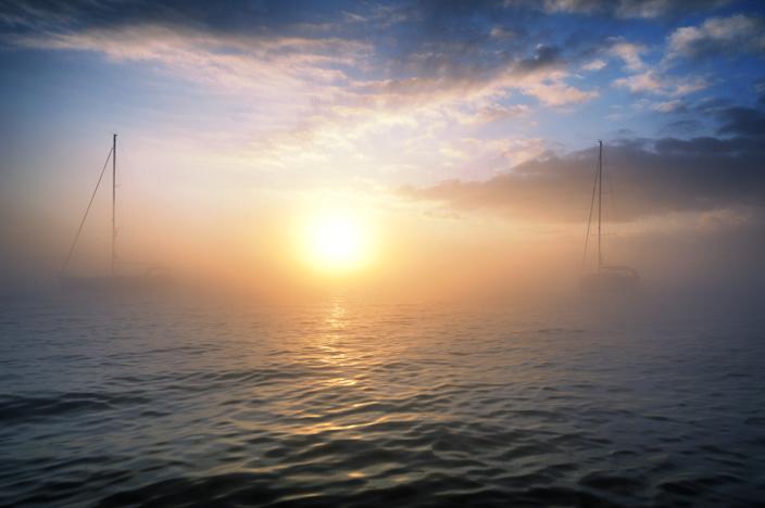 Sonnenaufgang Griechenland Petriti