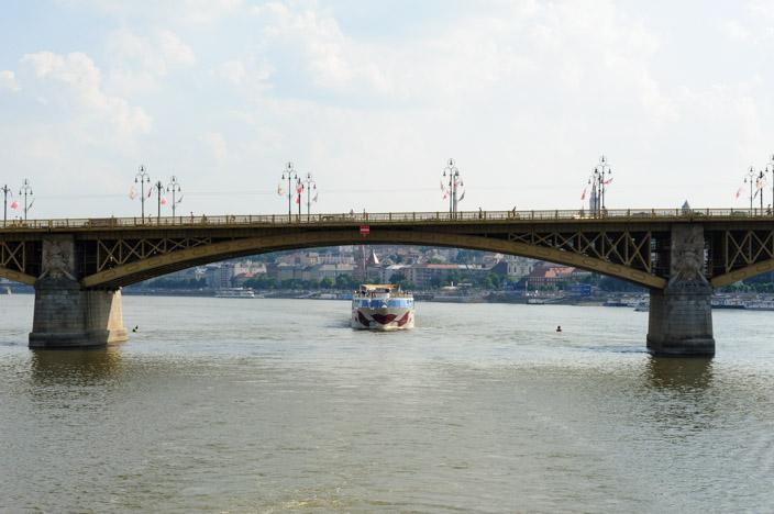 In Budapest mit der A-ROSA