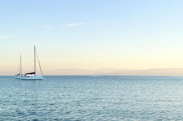 Sonnenaufgang Griechenland Lakka