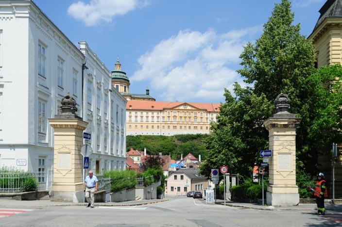 A-ROSA Riva Flusskreuzfahrt Donau Stopp in Melk