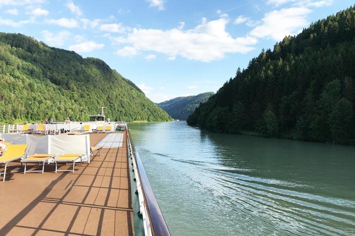 Flusskreuzfahrt Donau Schlögener Schlinge