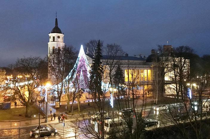 Aussicht Kempinski Hotel Cathedral Square Vilnius
