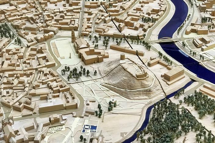 Vilnius Sehenswürdigkeiten: Modell der Stadt
