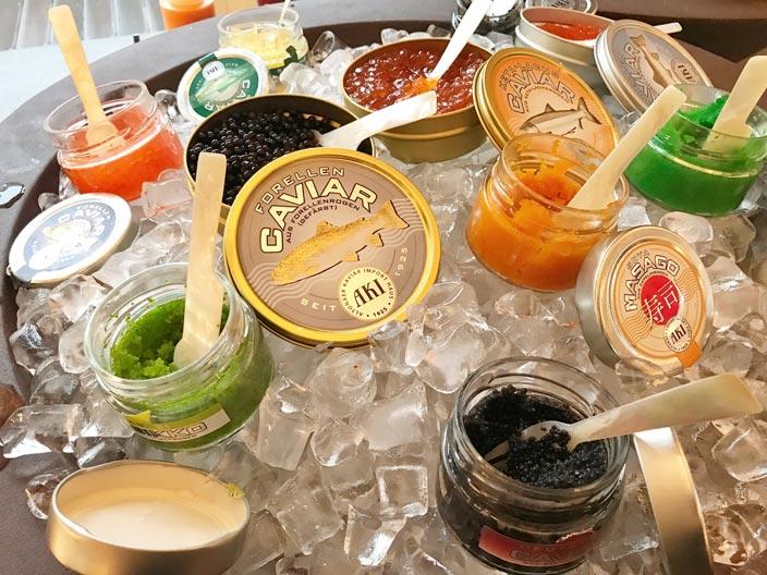 Caviar Frühstück Telegrafas im Kempinski Hotel Cathedral Square Vilnius