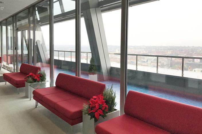 Vilnius Sehenswürdigkeiten: Aussicht auf die Stadt vom neuen Rathaus
