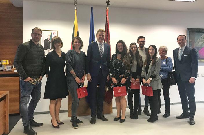 Vilnius Sehenswürdigkeiten: Besuch beim Bürgermeister