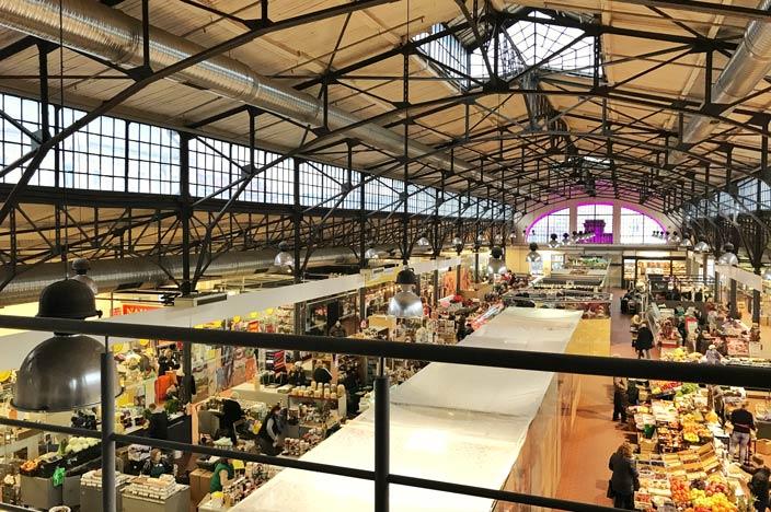 Vilnius Sehenswürdigkeiten: Hales-Markt / Markthalle