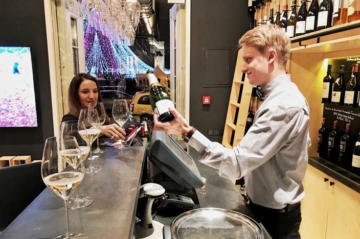 Champagner Bar Kempinski Hotel Cathedral Square Vilnius