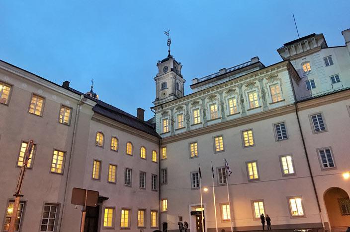 Vilnius Sehenswürdigkeiten: Universität Vilnius