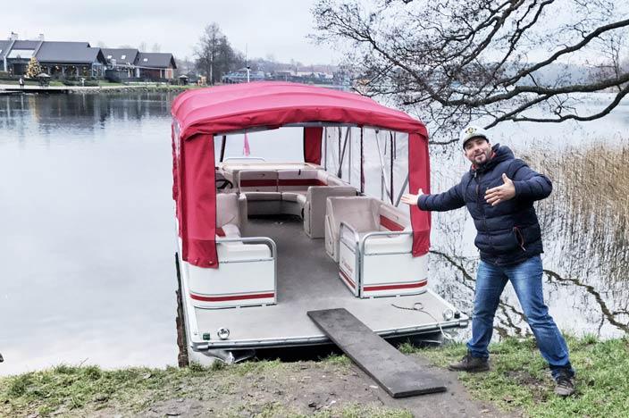Vilnius Sehenswürdigkeiten: Wasserburg Trakai Bootstour