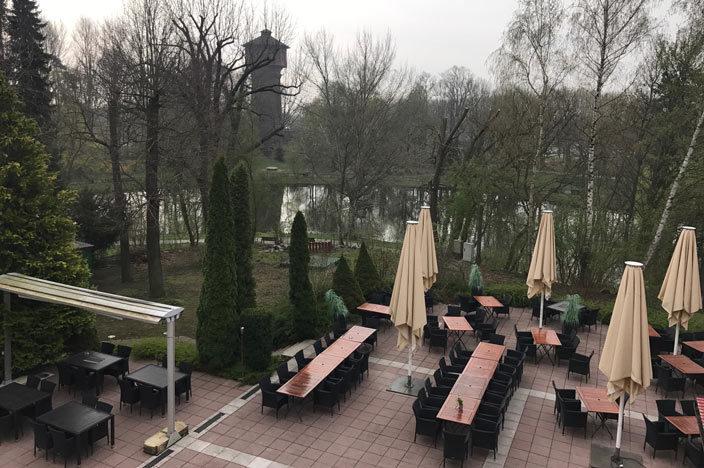 """Wolfenbüttel Tipps Parkhotel """"Altes Kaffeehaus"""" Terrasse"""