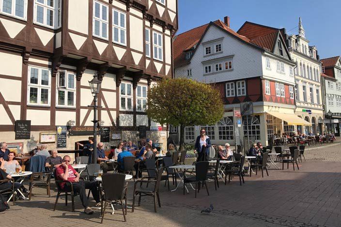 Wolfenbüttel Tipps Café Stadtmarkt