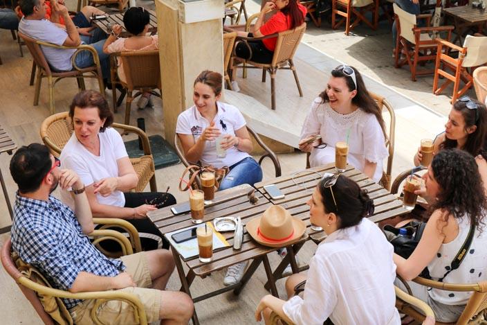 Nicosia Tipps: Café Tria Fanaria Foto: Thomas von Breitengrad66