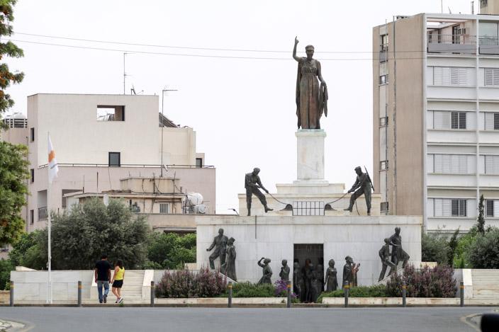 Nicosia Tipps: Freiheitsdenkmal Foto: Thomas von Breitengrad66