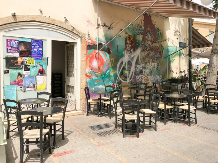 Nicosia Tipps: Streetart Grafitti