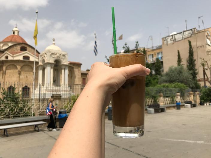 Nicosia Tipps: Frappé und die Faneromenis-Kirche