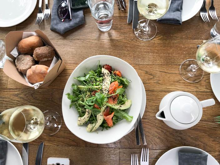 Nicosia Tipps: DOT Restaurant Bauernsalat