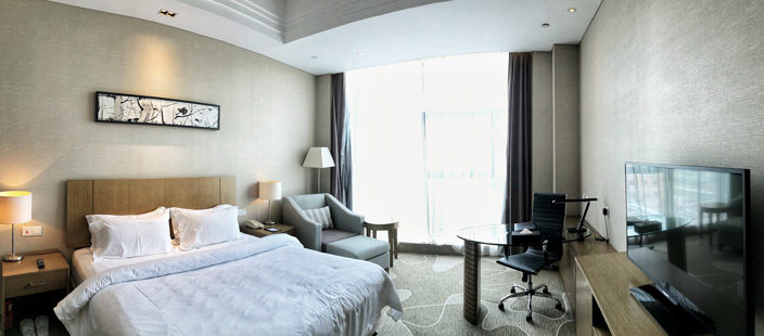 Shanghai Sehenswürdigkeiten Tipps Jinjiang Metropolo City North Hotel