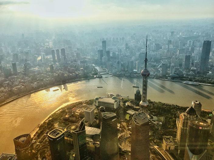 Shanghai Sehenswürdigkeiten Tipps Shanghai-Tower