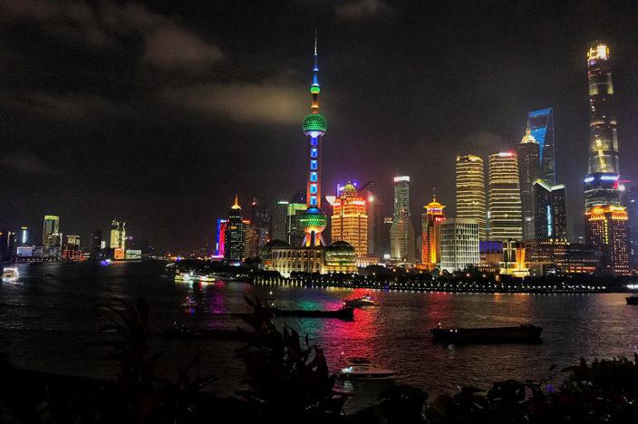 Shanghai Sehenswürdigkeiten Tipps Bund Skyline