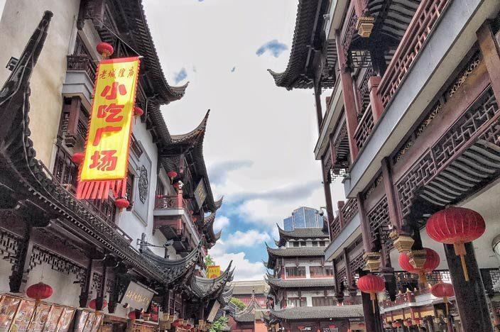 Shanghai Sehenswürdigkeiten Tipps Yu-Yuan-Garten