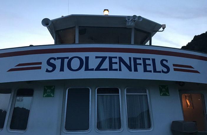 """MS Stolzenfels bei """"Rhein in Flammen St. Goar / St. Goarshausen"""""""