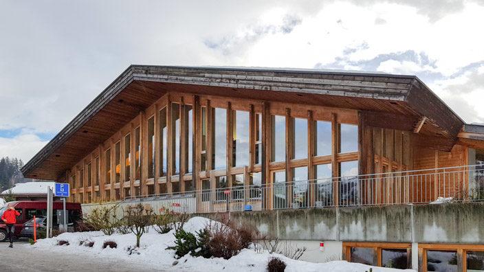Sportzentrum Gstaad Curlinghalle