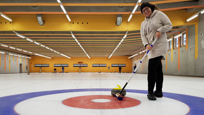 Sportzentrum Gstaad Curling
