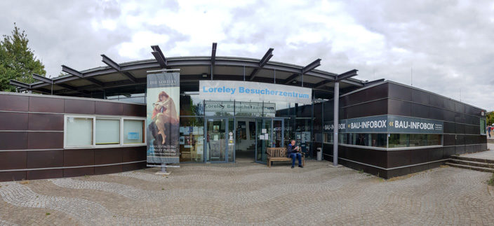 Besucherzentrum Loreley auf dem Loreley-Felsen