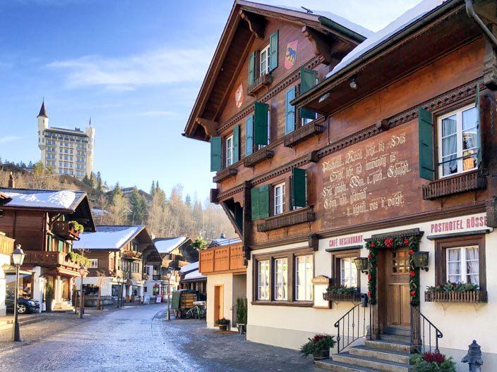 Bummel durch Gstaad