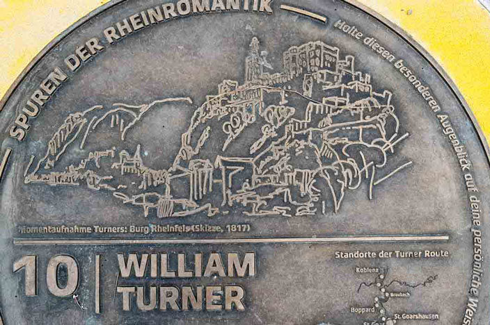 Oberes Mittelrheintal: Neu ist hier die Turner Route.